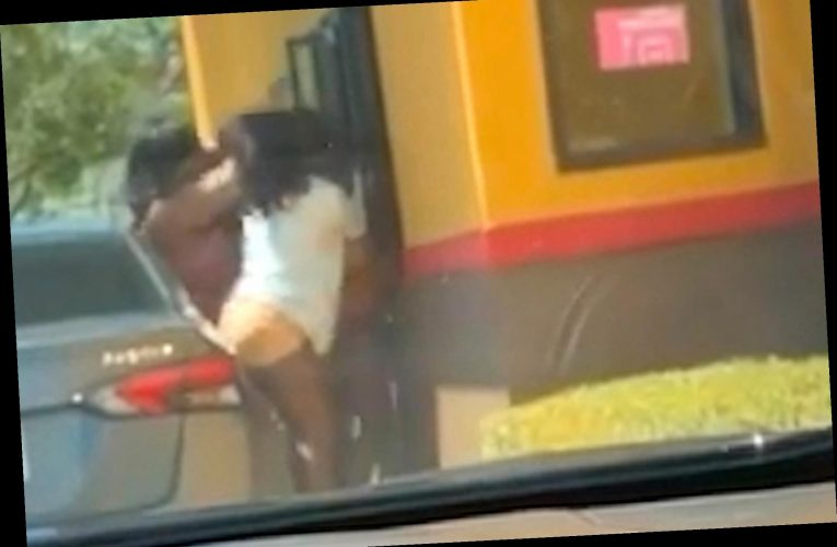 Wild video shows women robbing, punching workers at Popeye's drive-thru