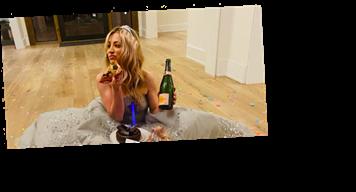 Kaley Cuoco Losing a Golden Globe Looks Like More Fun Than Winning, TBH