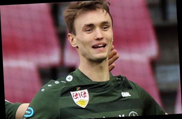 West Ham eye Sasa Kalajdzic transfer with £15m Stuttgart striker also being eyed by RB Leipzig and Roma in summer