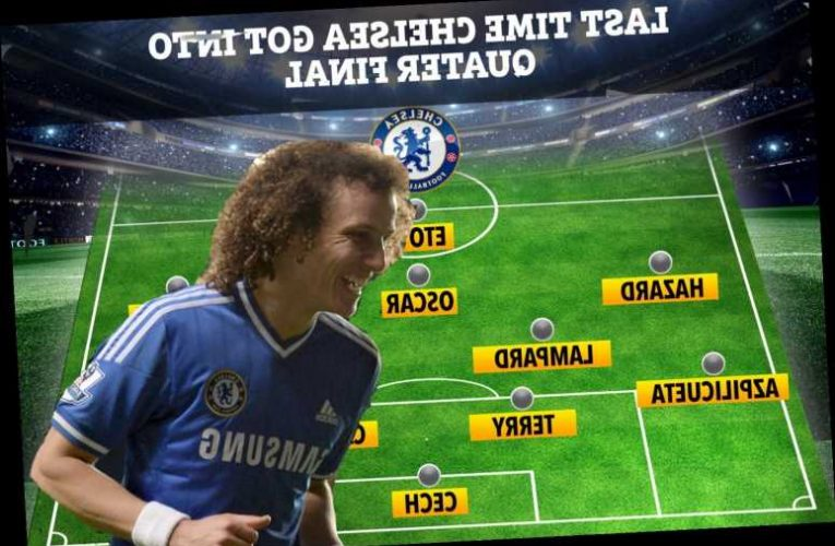 How Chelsea lined-up last time they got into Champions League quarter-final including David Luiz and Samuel Eto'o
