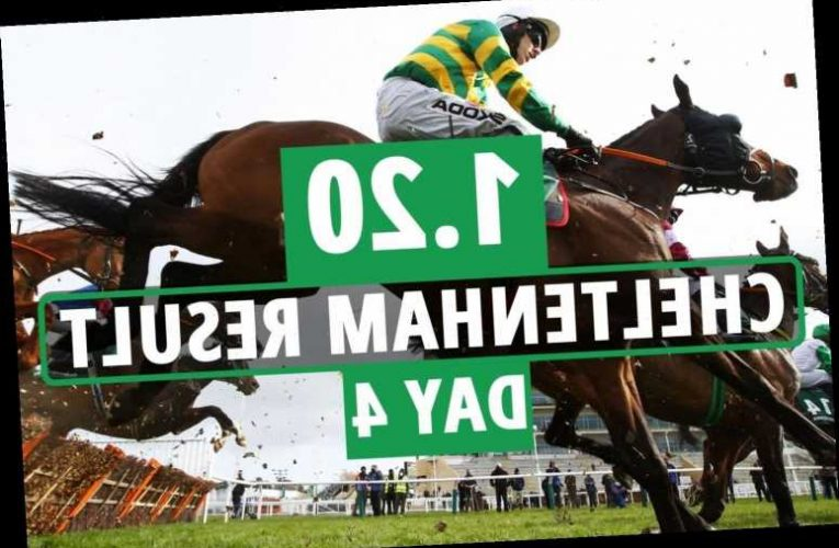 1.20 Cheltenham result – day 4: Who won Triumph Hurdle 2021? How every horse finished
