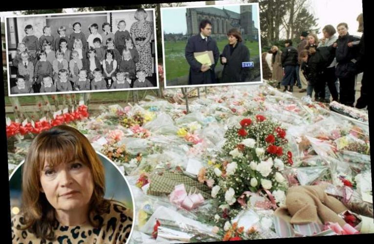 I won't forget handprints of kid, 5, who never came home, says Lorraine Kelly as she returns to Dunblane 25 years on