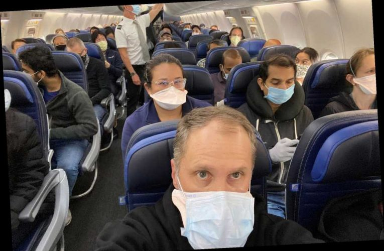 I'm outraged by United Airlines' COVID policy after a jam-packed flight
