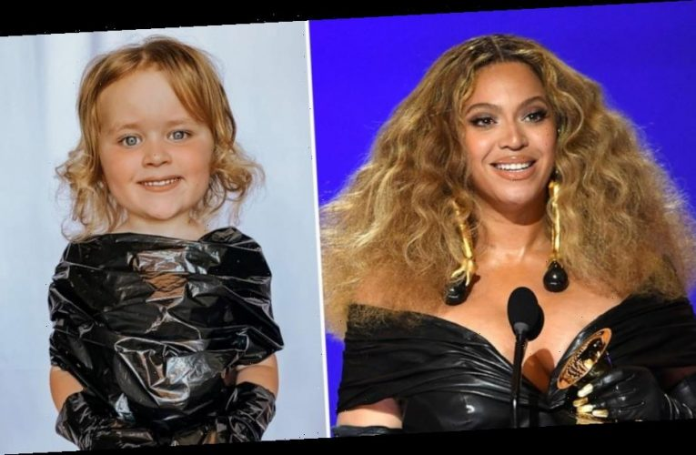 4-year-old twins recreate Grammy red carpet looks