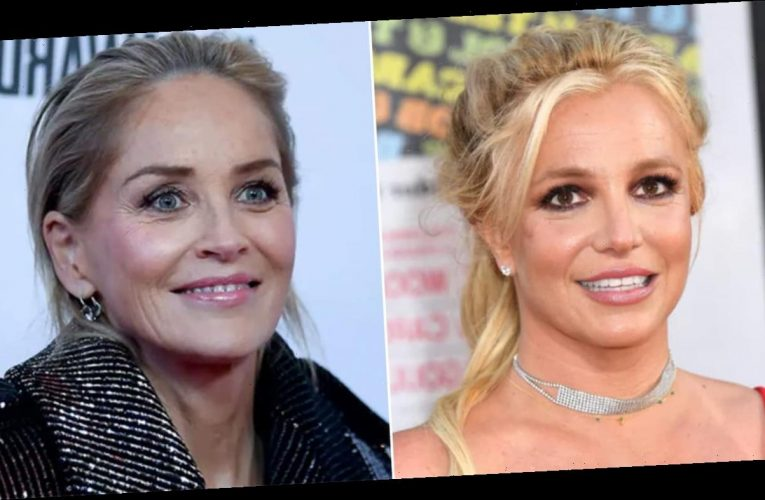 Sharon Stone reveals Britney Spears sent her a letter asking for help in 2007