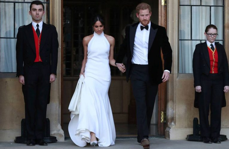 Prince Harry and Meghan's 'secret wedding' an exchange of vows and not legal ceremony