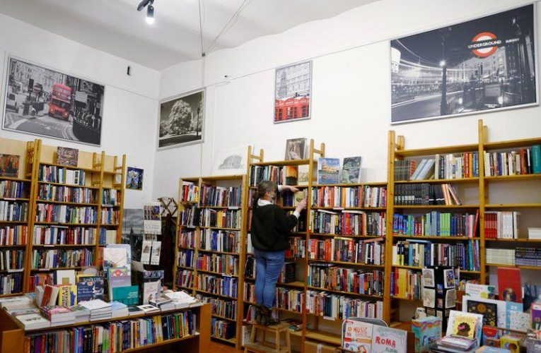 A long Brexit journey to Rome's Almost Corner Bookshop