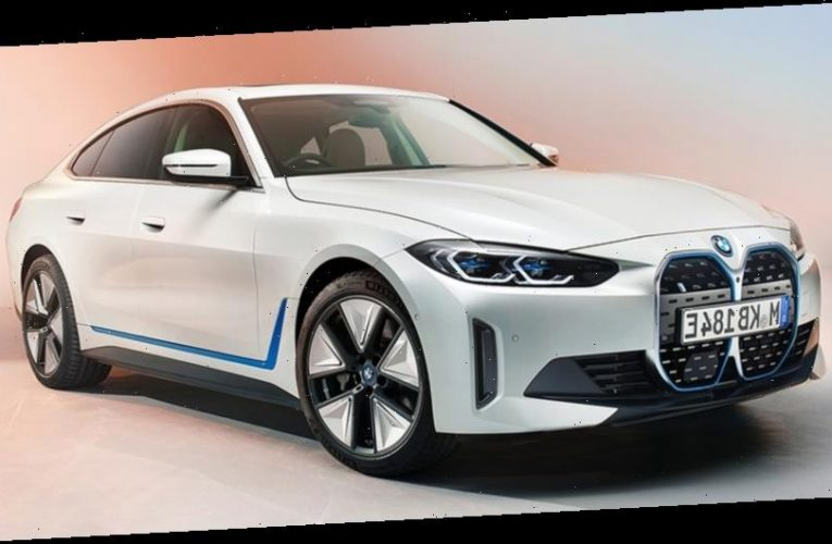 BMW Offers Glimpse at Production-Ready All-Electric i4 That'll Come With up to 530 HP