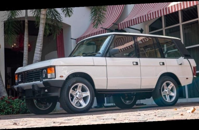 This Is a Tesla Disguised as a Range Rover Classic