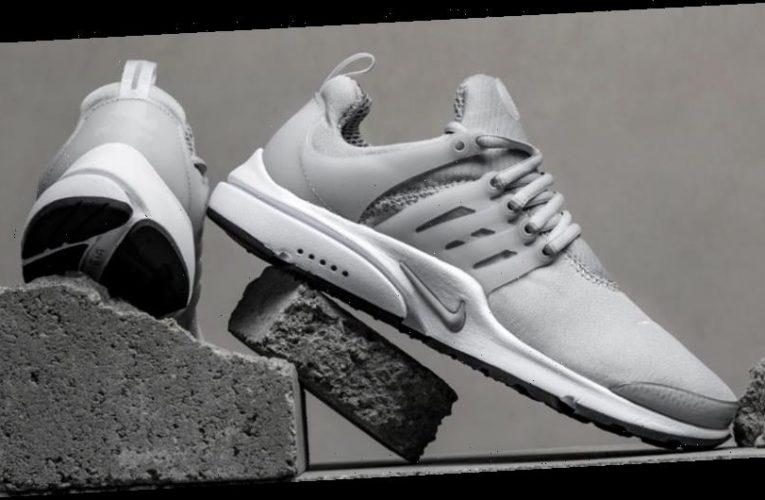 "Nike Air Presto ""Light Smoke Grey"" Supplies Crisp Sportswear Style"