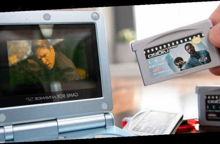 You Can Actually Watch 'Tenet' on a Gameboy Advance