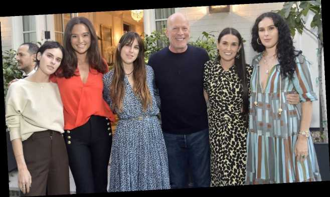 Demi Moore Shares Fun Family Photo for Ex Bruce Willis' Birthday