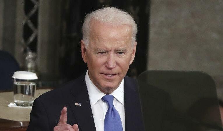 'America is rising anew', Joe Biden declares in speech to Congress