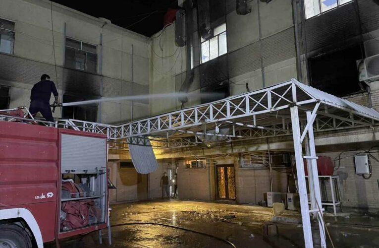 82 dead, 110 injured in Baghdad hospital fire started by oxygen cylinder