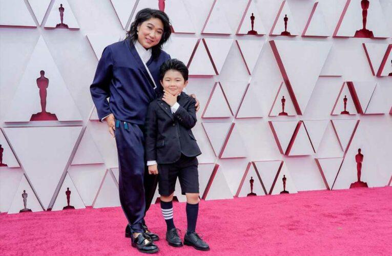 'Minari' star Alan Kim suits up in Thom Browne shorts at Oscars 2021