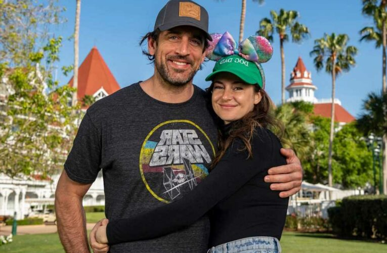 Aaron Rodgers' favorite activity with Shailene Woodley is 'cuddle time'
