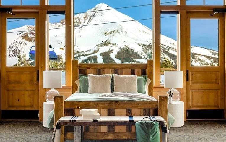 Andesite Mountain in Big Sky, Montana Is Airbnb's Biggest Listing Yet