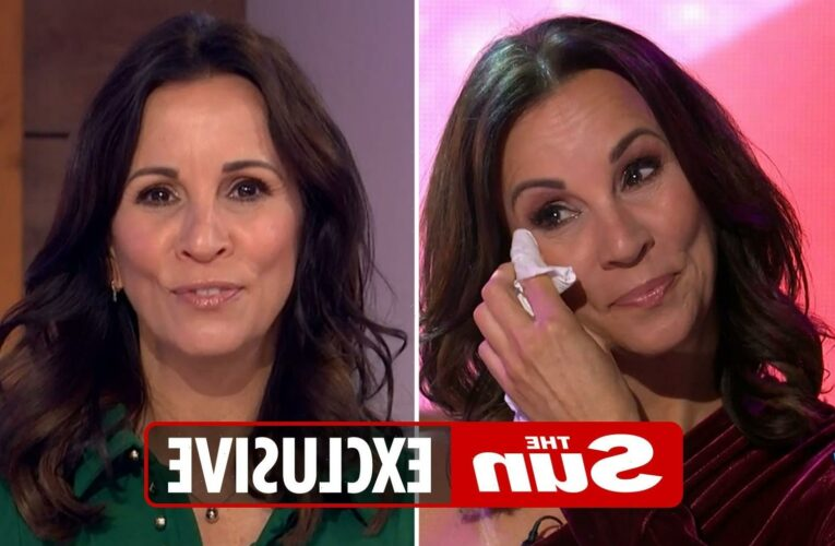 Andrea McLean worried she'd have to sell her house and 'never earn a penny' when quitting Loose Women