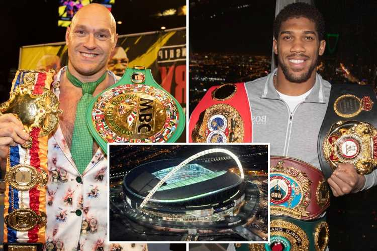 Anthony Joshua fight date with Tyson Fury confirmed by Eddie Hearn as July 24 IF £500m bout takes place at Wembley