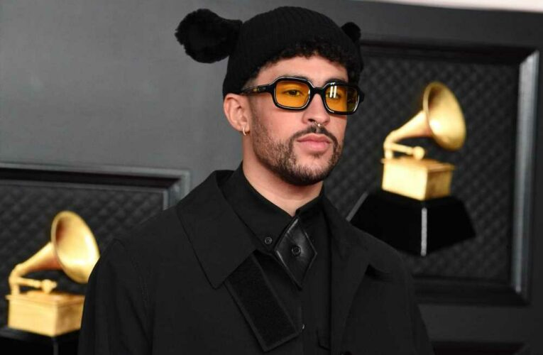 Bad Bunny shows off his abs in a crop top