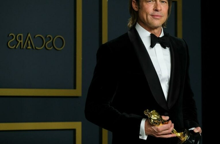 Brad Pitt left a Beverly Hills medical center in a wheelchair following a dental procedure?