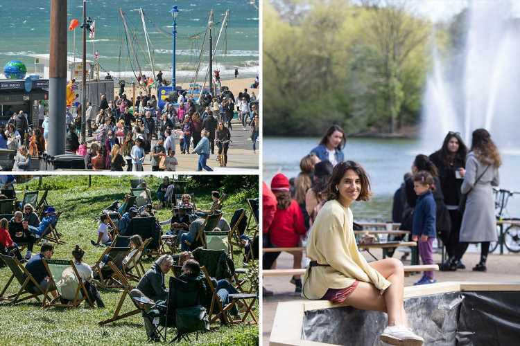 Britain set for chilly 15C Bank Holiday weekend before 27C heatwave for next stage of lockdown lift