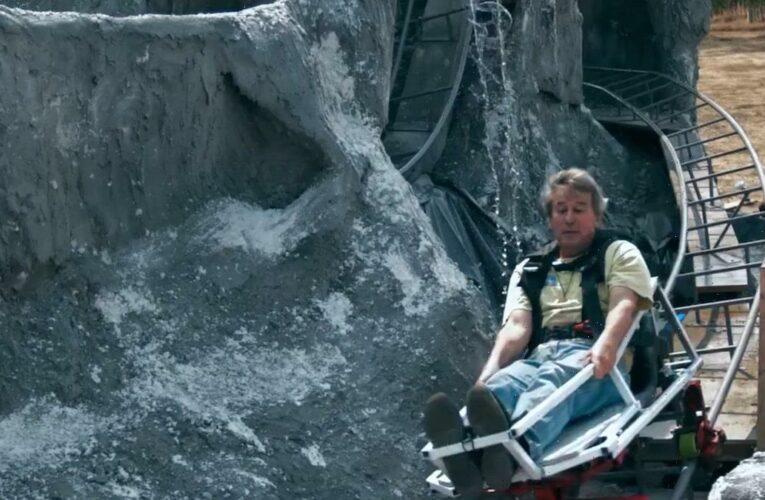 CA Man Recreates Disneyland Matterhorn Roller Coaster in Backyard