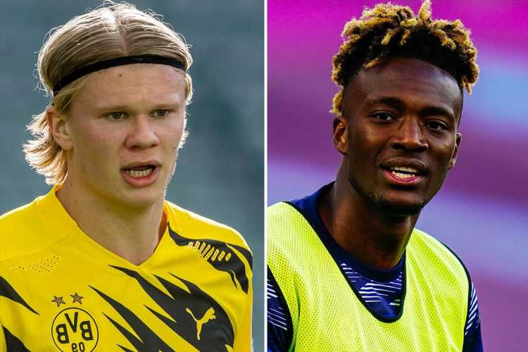 Chelsea 'ready to sell Tammy Abraham for £40million' as Thomas Tuchel looks to fund Erling Haaland transfer pursuit
