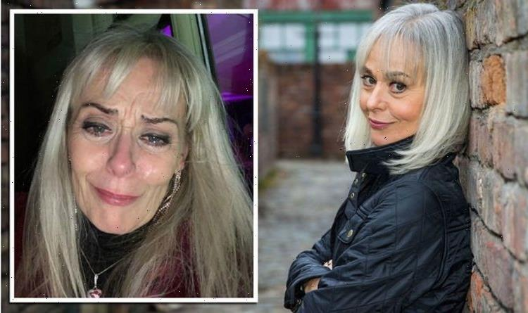 Corrie's Tracie Bennett loses 12 friends to Covid and details saying goodbye over video