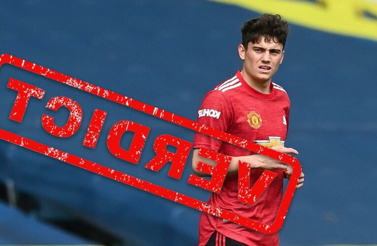 Dan James display in Man Utd's draw vs Leeds shows he will be lucky to even keep bit-part role if Jesse Lingard returns