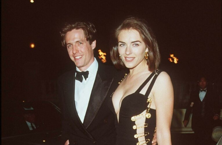 Elizabeth Hurley's iconic Versace safety pin dress voted nation's favourite red carpet moment