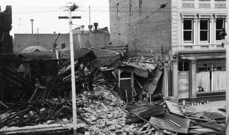 From the Archives, 1962: Near escapes for many as explosion rocks Fitzroy