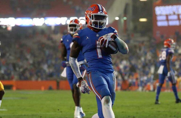 Giants take Florida WR Kadarius Toney in NFL Draft after trading down