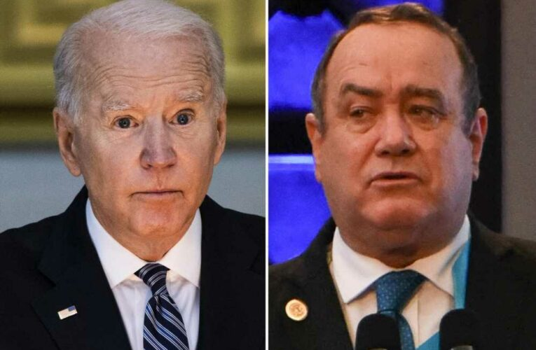 Guatemala's president says Biden's 'confusing' messages created border crisis