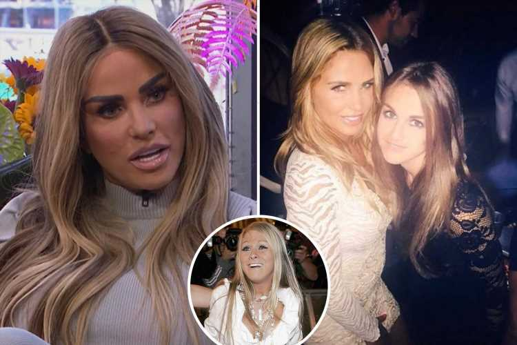 Gutted Katie Price reveals what Nikki Grahame said in her final voicenote message before she died