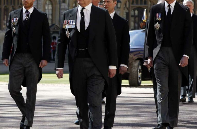 Here's Why Prince Harry Isn't Wearing a Military Uniform at Prince Philip's Funeral