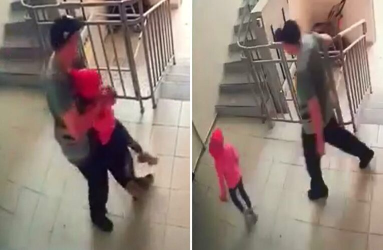 Horror moment 'paedo' grabs girl, 7, before youngster flees for her life