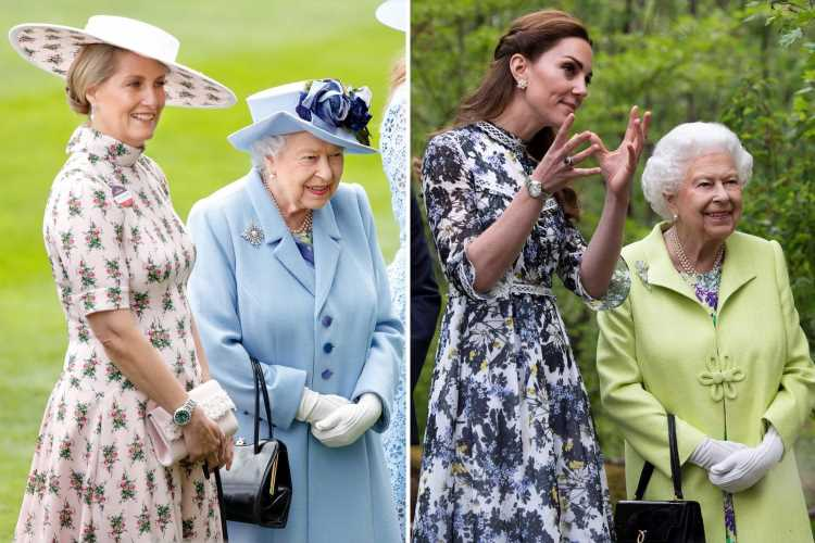 How Kate Middleton & Sophie Wessex are the Queen's new 'strength' as they quietly work to 'shape future of the monarchy'