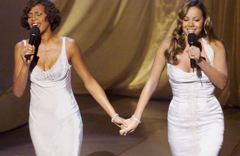 How One-Time 'Rivals' Whitney Houston and Mariah Carey's Multi-Million Dollar Record Deals Failed