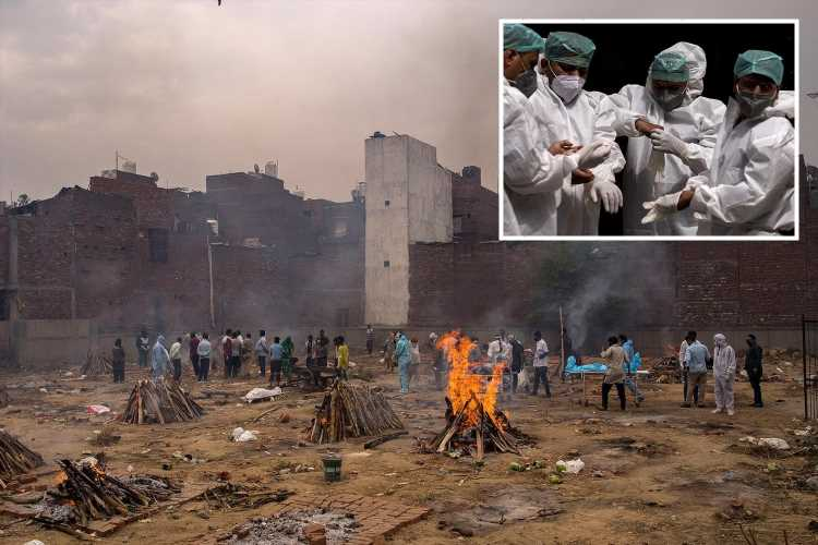 India buckles under 'world's worst Covid outbreak' with record 315,000 new cases as people die waiting for oxygen