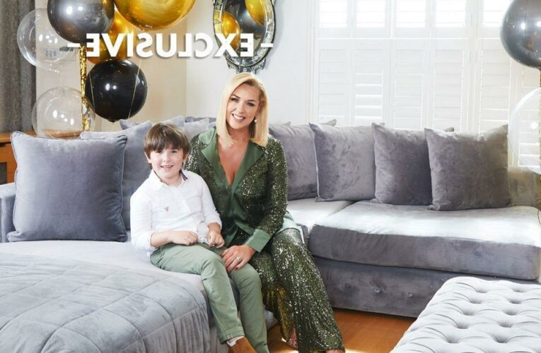 Inside Claire Sweeney's incredible home as actress reveals her five favourite things including Brookside memorabilia