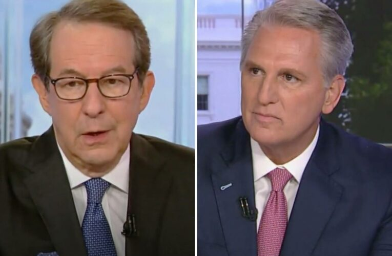 Kevin McCarthy refuses to answer Chris Wallace's questions about Trump call during Capitol riot