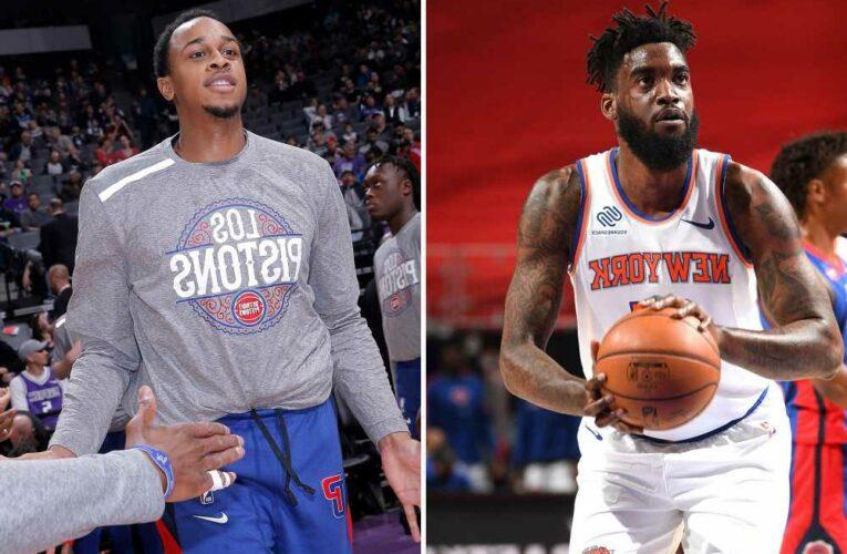 Knicks dumping John Henson as Norvel Pelle emerges