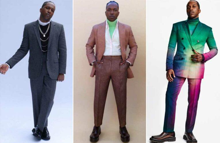 Leslie Odom Jr. is 2021's king of the red carpet