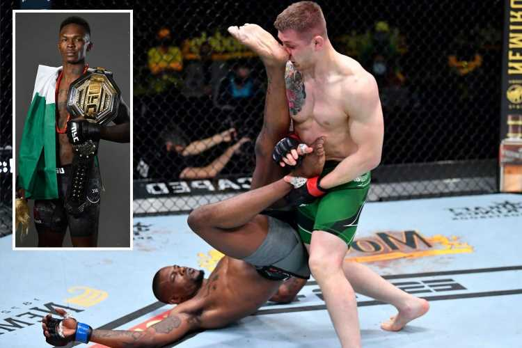 Marvin Vettori breaks UFC record for takedowns in Kevin Holland win before calling out Israel Adesanya for title fight