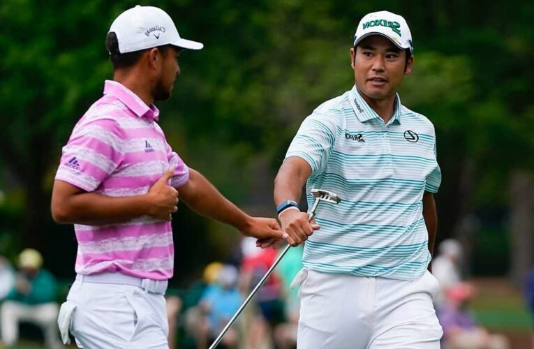 Matsuyama has 4-shot lead on last day at Masters