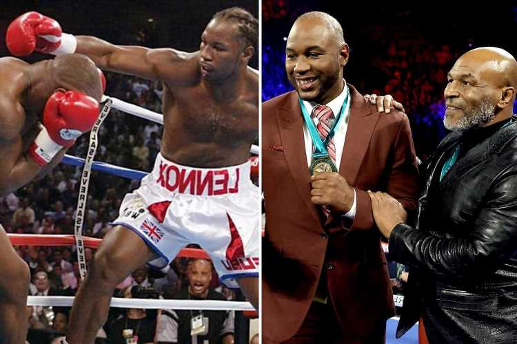Mike Tyson to fight Lennox Lewis – with combined age of 109 – in September showdown after Holyfield clash fell through