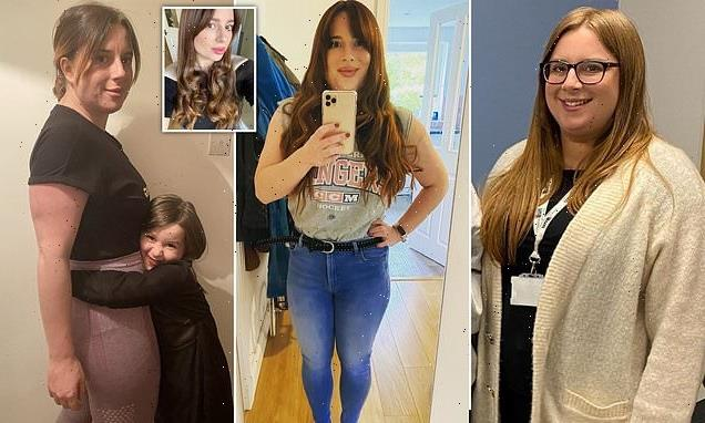 Mother reveals her daughter can hug her after she shed 6st