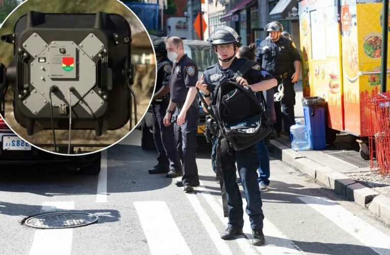 NYPD use of sound cannons during protests limited by new $750K settlement