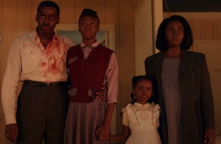 New horror series Them divides viewers with 'traumatic and disturbing' scenes of black family terrorised by racists